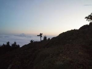 雲取山です
