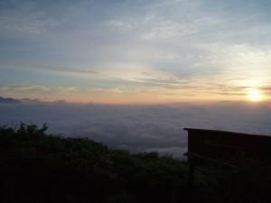 御嶽山雲海