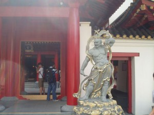 シンガポールのお寺