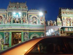 ヒンドゥーの寺院