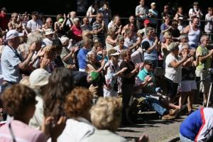 北欧のフェスで歓迎を受ける 写真; Marcus Lundberg