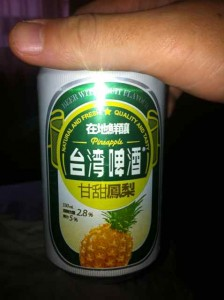 台湾麦酒パイン味